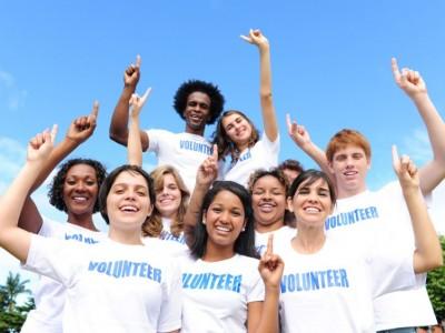 volunteers are number one