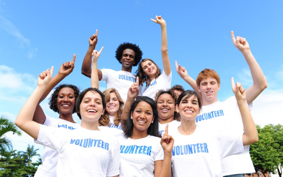 volunteers are number one