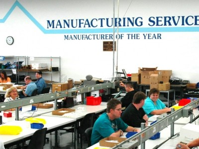 manufacturing services room
